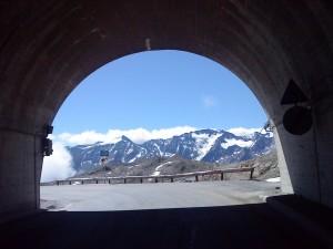 Tunnelausfahrt süd - höchster Punkt 2.829